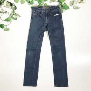 American Eagle Mens Slim Straight Jeans 28x32